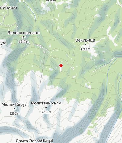 Karte / Hütte Lovna