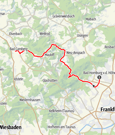 Map / Hochtaunusstraße