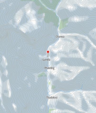 Karte / Lodge 2700m