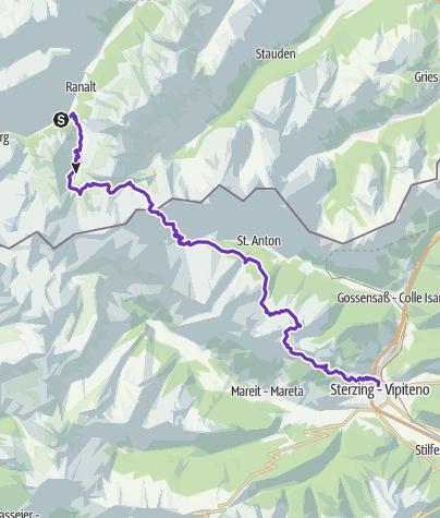 Map / Stubai-Sterzing