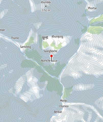 Karte / Lodge 3500m