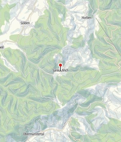 Karte / Bollschweil - ehemaliges Kloster St. Ulrich