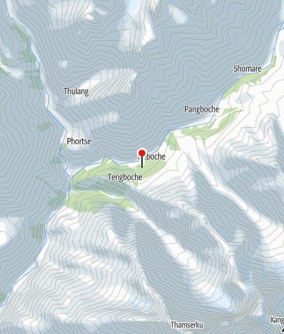Karte / Lodge 3730m