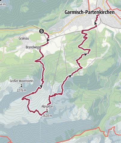 地图 / Alpspitze