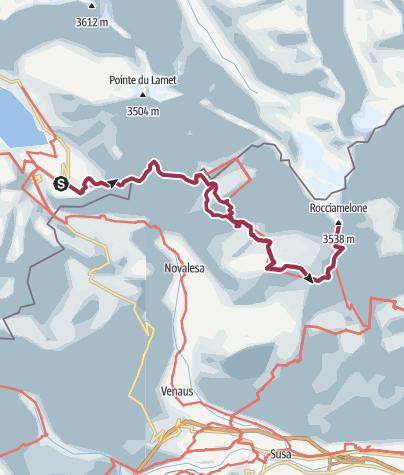 מפה / Rocciamelone