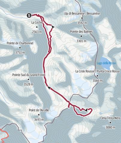Mapa / Punta Costan