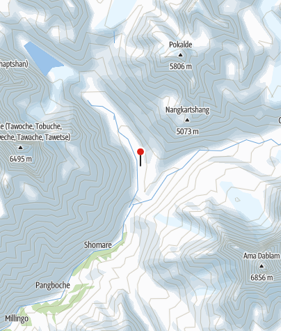 Karte / Pheriche 4240m