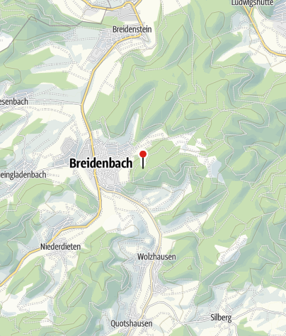 Karte / Der Jubiläumsaussichtsturm Breidenbach