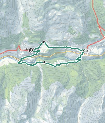 Map / Rundwanderung auf den Spuren von Schellen-Ursli