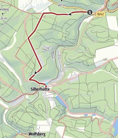 Karte / Waldhofmännchenweg