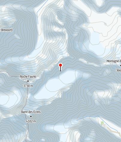 Karte / Refuge Ecrins