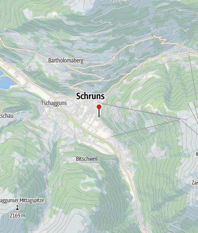 Karte / Ferienwohnung Heidi