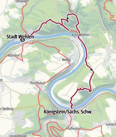 Map / Enestående flotte Bastei