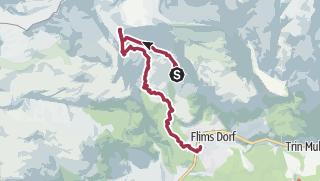 Карта / Tektonikarena Sardona & Trutg dil Flem