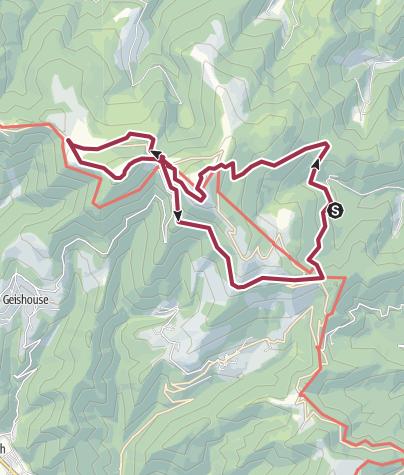 Map / Circuit autour du Grand-Ballon