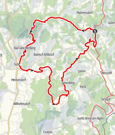 Karte / 3-Kogel-Weg