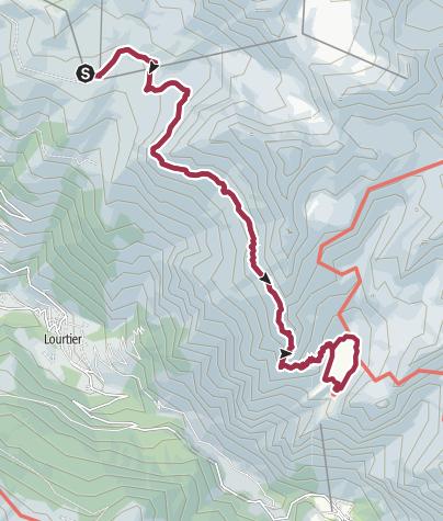 Mappa / round trip Col Termin