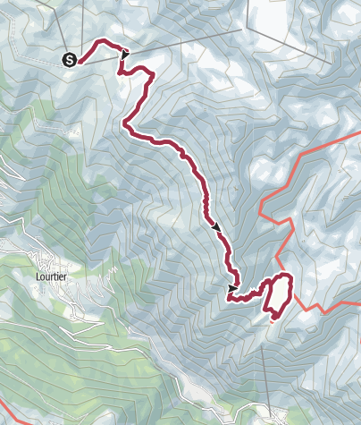 Hartă / round trip Col Termin