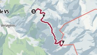 מפה / round trip Col Termin