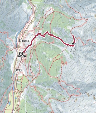 Карта / To Europahuette