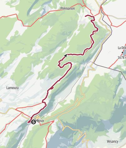 Map / Randonnée en montagne le 29 juillet 2020