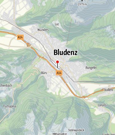 Karte / Bludenz