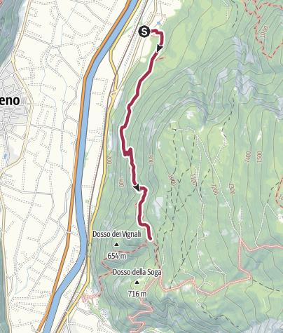 Cartina / Il sentiero dell'Imperatore