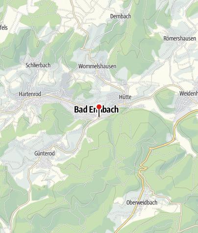 Karte / Kunst- und Kulturhaus mit Kneippmuseum Bad Endbach