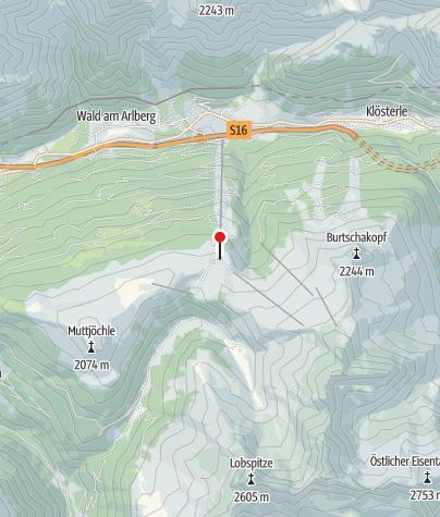 Karte / Restaurant Sonnenkopf mit Bärenland