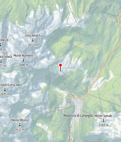 Map / Rifugio Viviani Pradalago
