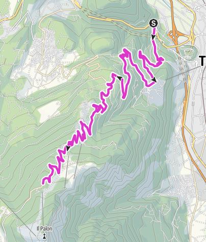 Cartina / Monte Bondone