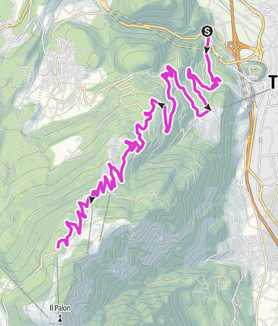 Karte / Monte Bondone