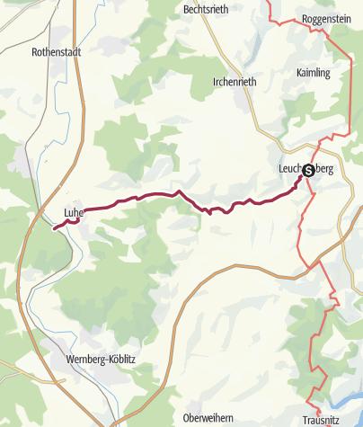 Map / Leuchtenberg - Luhe