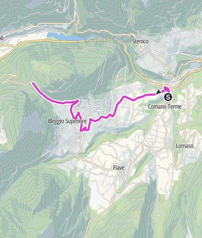 Map / Passo Durone