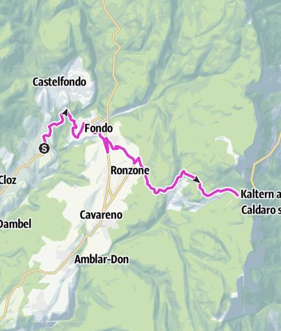 Karte / Passo Mendola