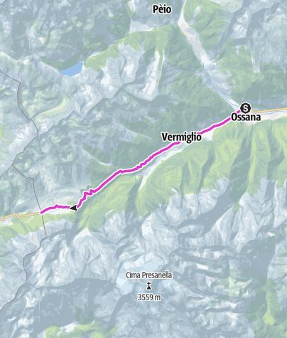 Karte / Passo del Tonale
