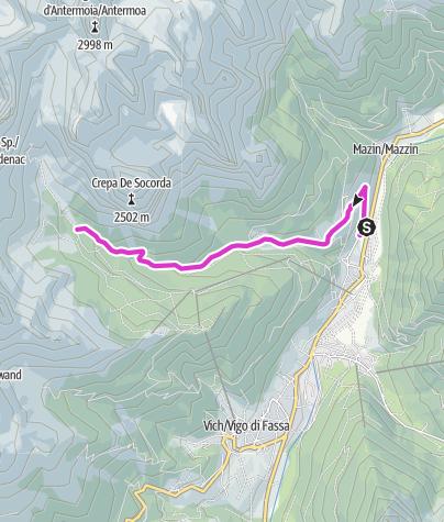 Map / Gardeccia