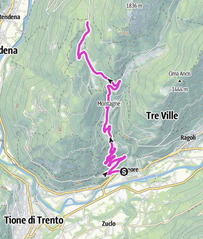 Karte / Passo Daone