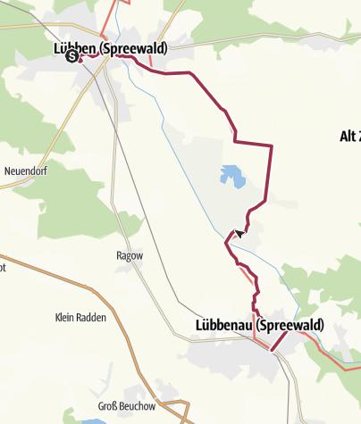 Karte Spreewald Lubbenau.Von Lubben Nach Lubbenau Spreewald Wanderung