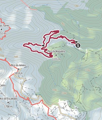 Karte / Levada da Serra do Faial