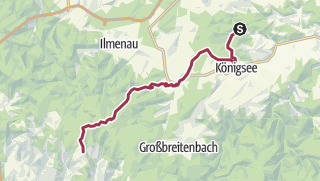 Map / Luther Trail: Section 10 – From Paulinzella to Frauenwald