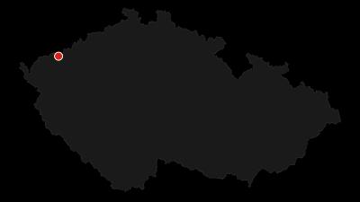 Mapa / Okolo Božího Daru přes Špičák a rašeliniště