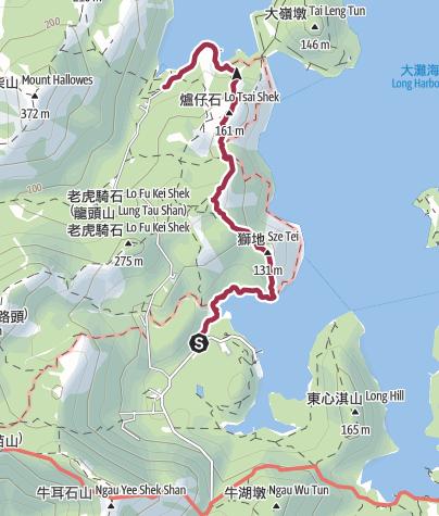 Map / 涌沙頂|Oasistrek