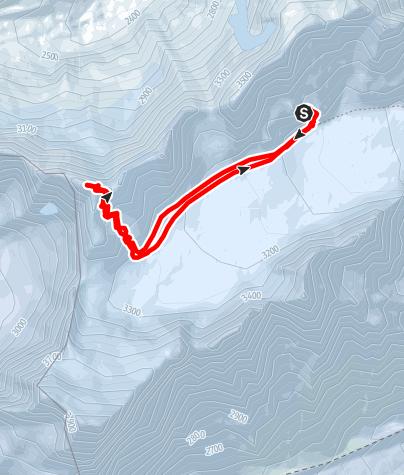 Karte / Roche Faurio (3730 m )