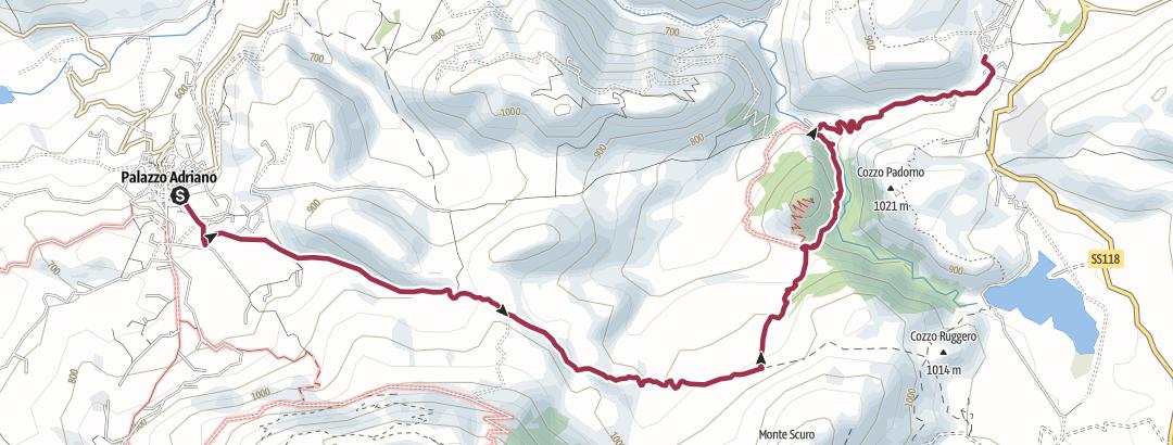 Map / Da Palazzo Adriano a Filaga