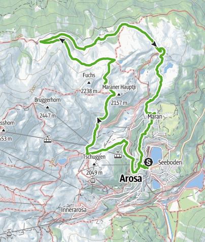 Map / 768 Arosa-Ochsenalp Rundtour