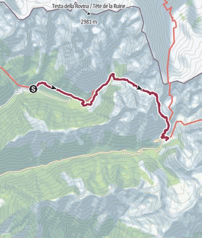 Map / 2016 08 05 GR52 Le Boréon - La Madone de Fenestre