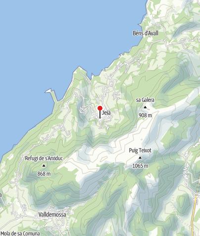 Karte / Refugi Can Boi