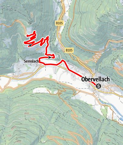 Karte / Obervellach - Himmelbauer