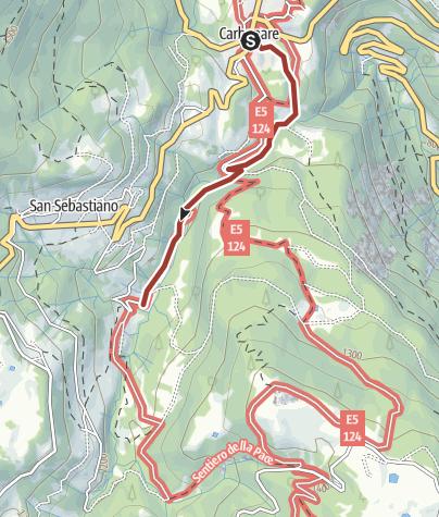 Cartina / Il Sentiero dell'acqua